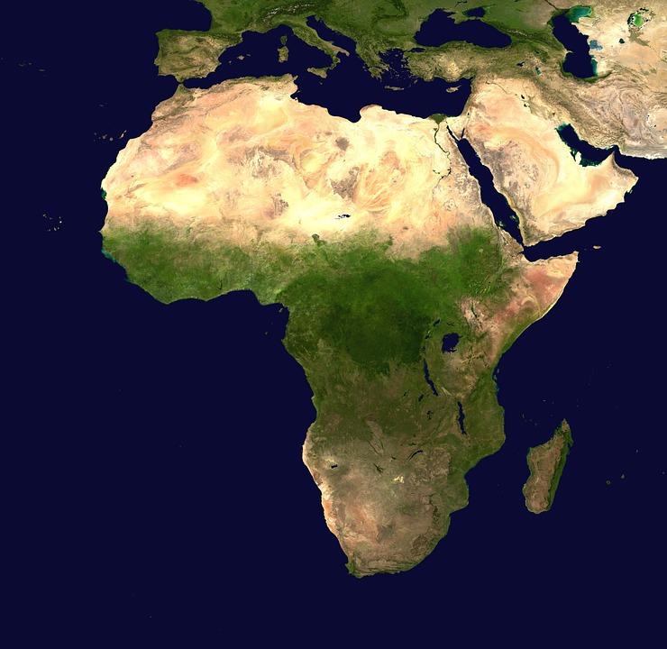 continente africano áfrica