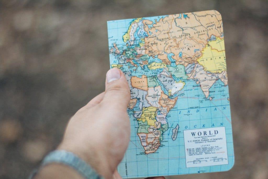 mapa cartografia
