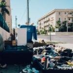 lixo na rua desigualdade social