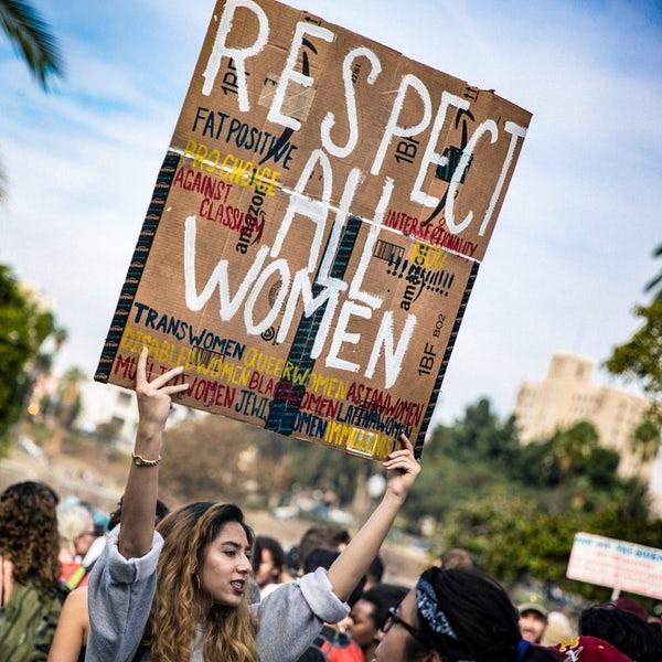 mulher manifestação feminismo