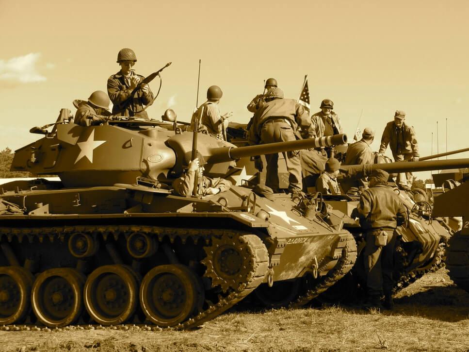 tanque guerra fria