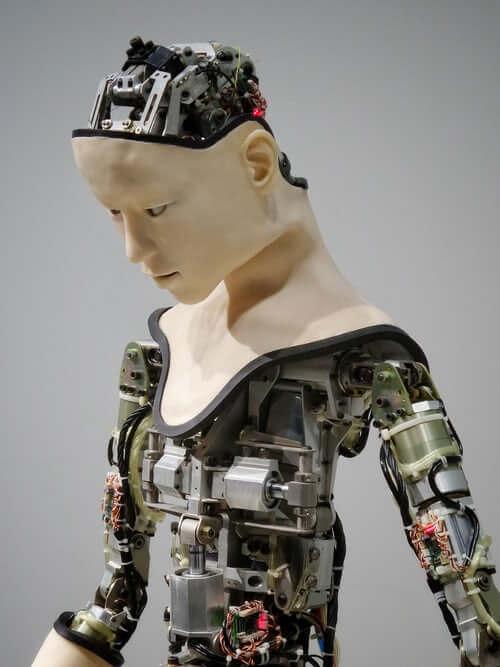 robo inteligência artificial