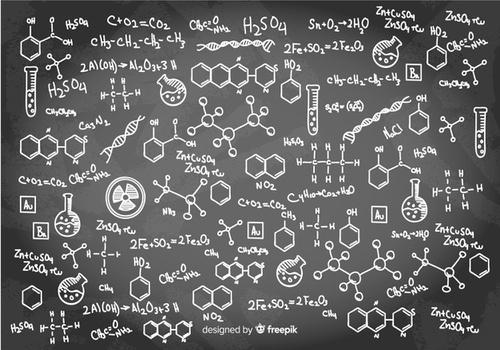 lousa de química ligação covalente