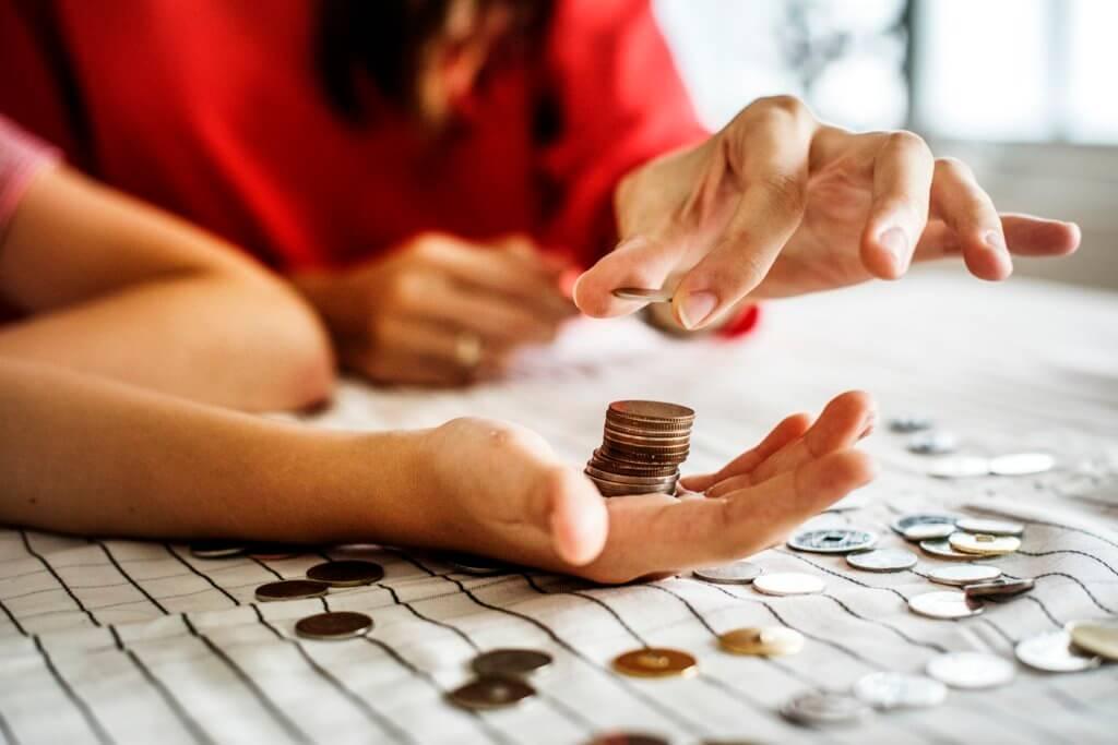 moedas poupança