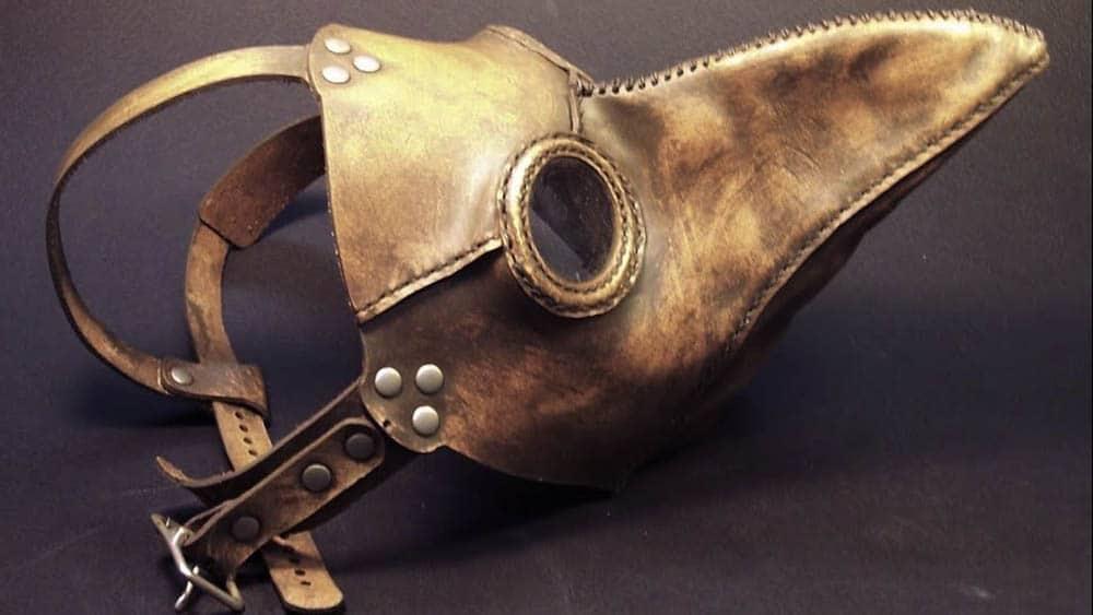 máscara da peste negra
