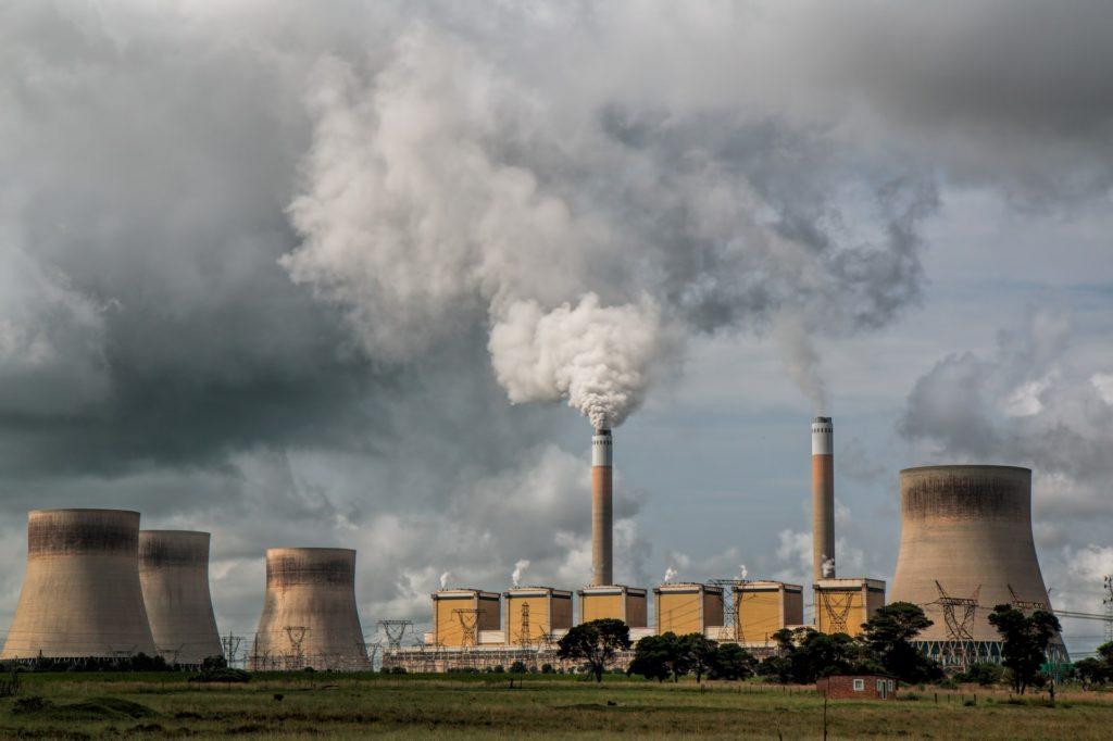 usinas poluição do ar